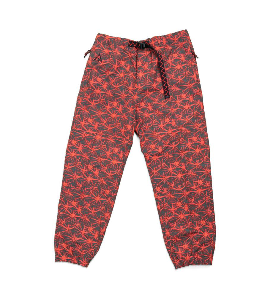 "ACG AOP Trail Pants ""Rush Red/Black""-1"