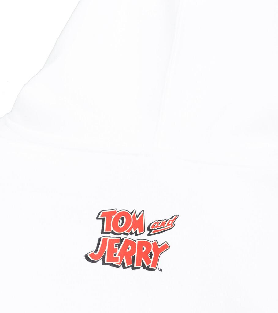 "Tom & Jerry Hoodie ""White""-4"