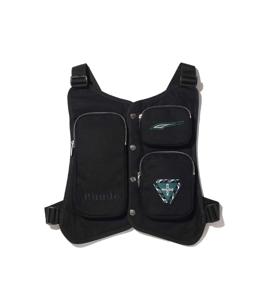 "Rhude Utility Vest ""Black""-1"