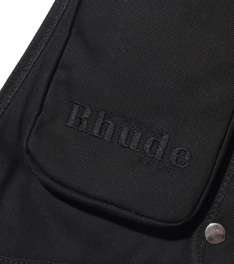 "Rhude Utility Vest ""Black""-3"