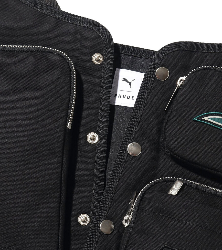 "Rhude Utility Vest ""Black""-5"