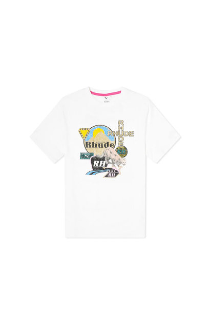 "Rhude Graphic Tee ""White"""
