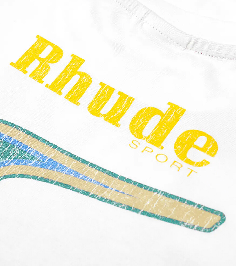 "Rhude Graphic Tee ""White""-3"