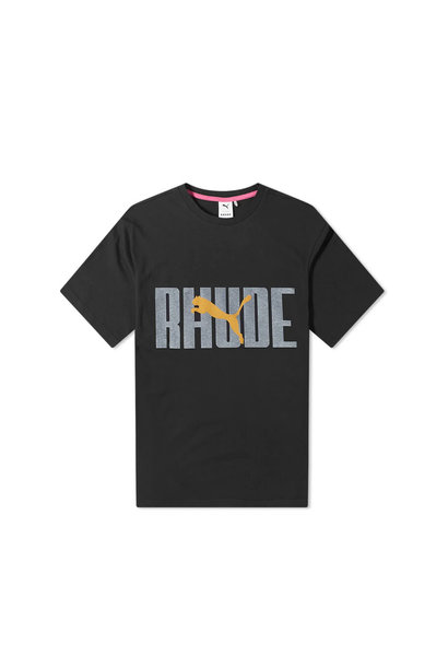 "Rhude Graphic Tee ""Puma Black"""