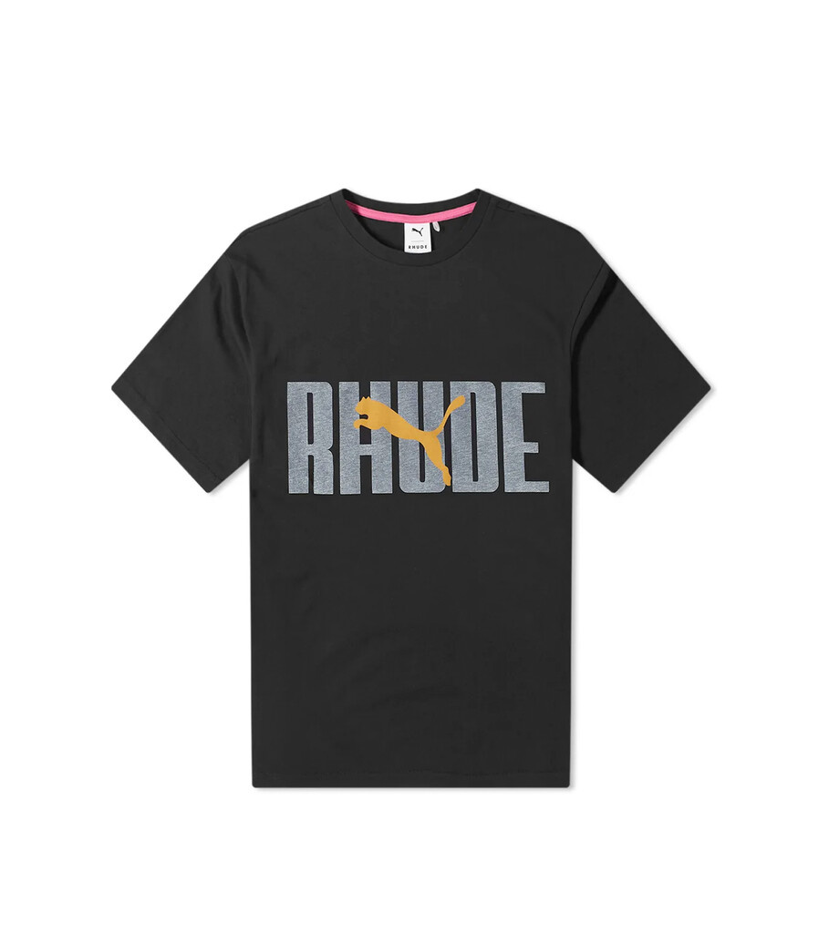 "Rhude Graphic Tee ""Puma Black""-1"