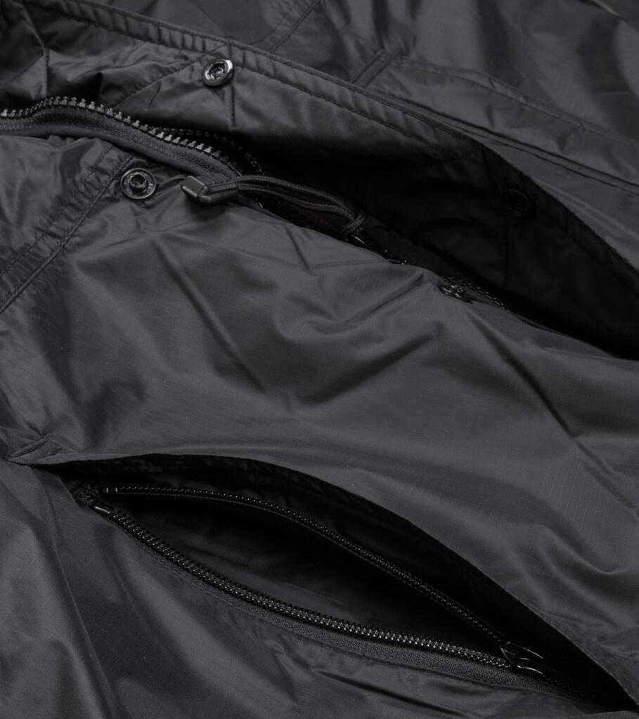 "X-Girl Reversible Fleece Jacket ""Black/Tan""-8"