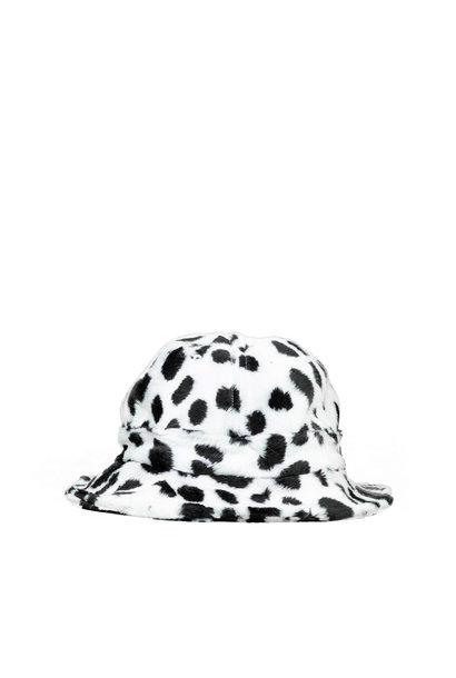 "Dalmatian Bucket Hat ""White"" S/M"