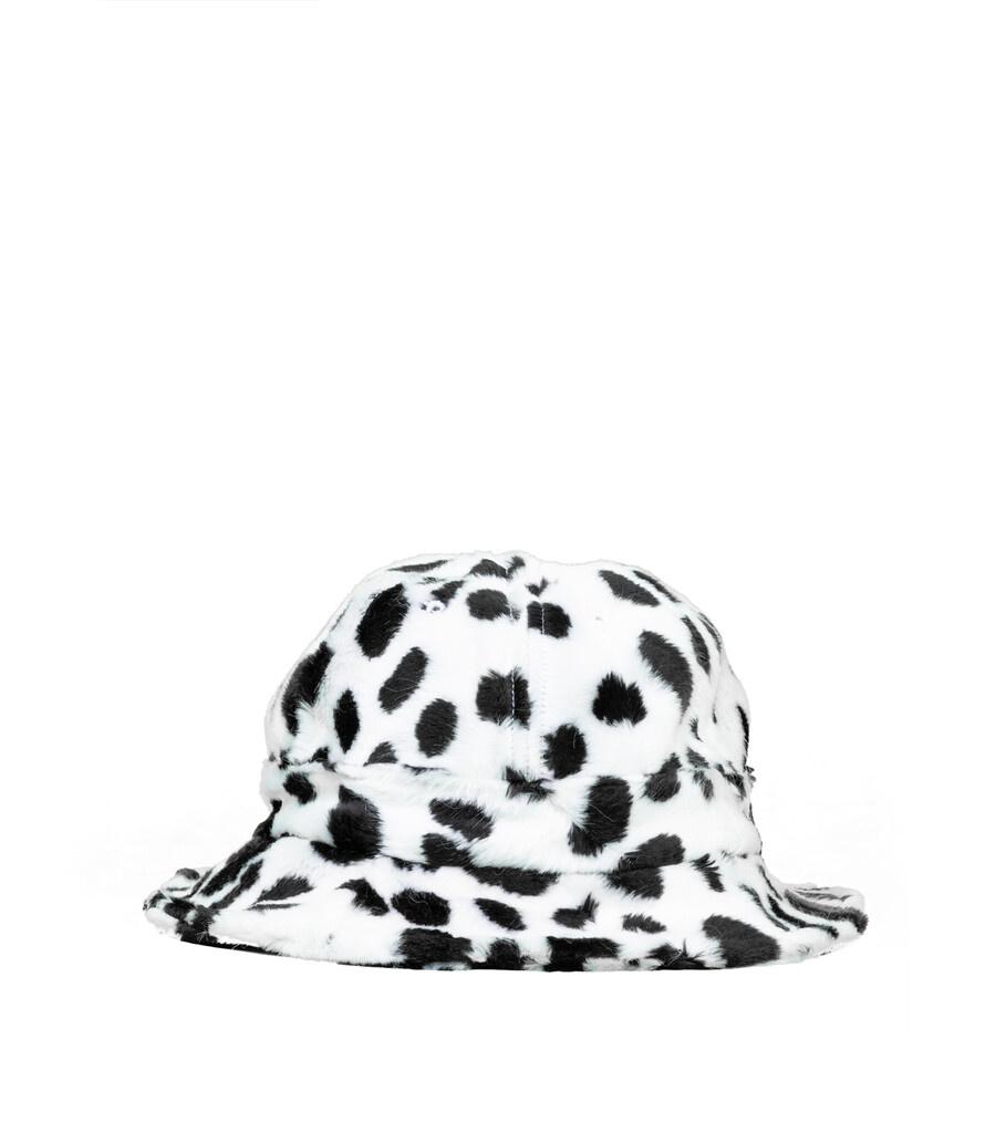 "Dalmatian Bucket Hat ""White"" S/M-1"