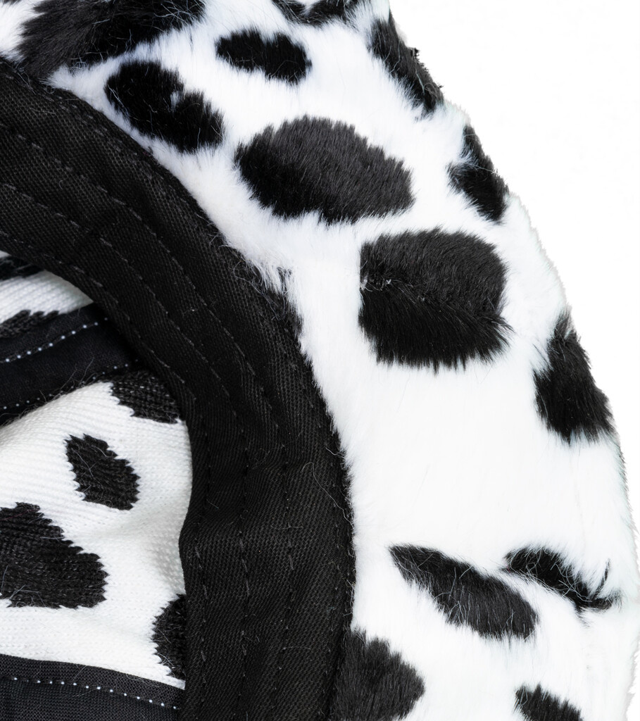 "Dalmatian Bucket Hat ""White"" S/M-3"