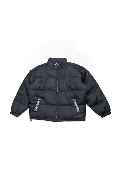 "Lenticular Puffer Jacket ""Black"""