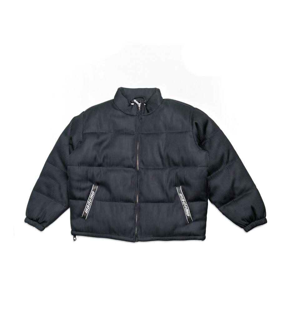 "Lenticular Puffer Jacket ""Black""-1"