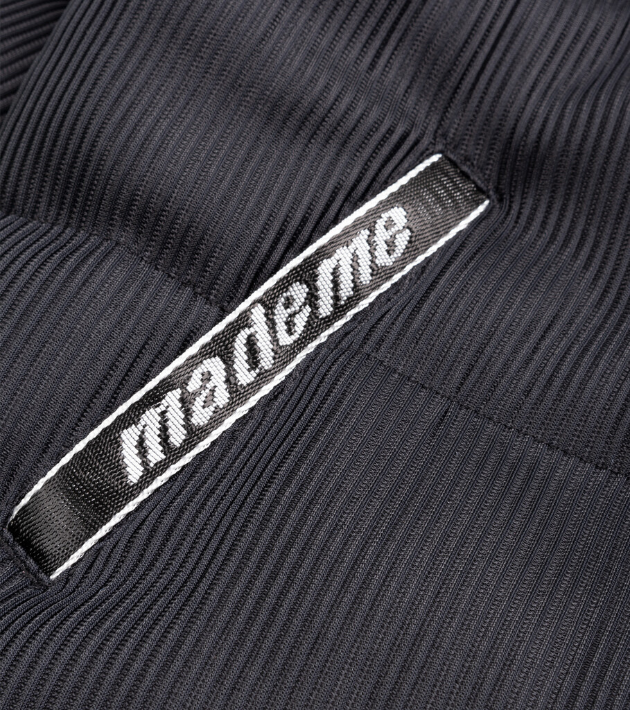 "Lenticular Puffer Jacket ""Black""-2"