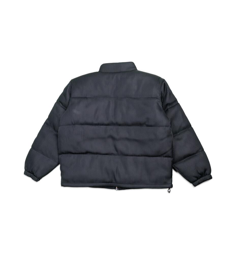 "Lenticular Puffer Jacket ""Black""-3"