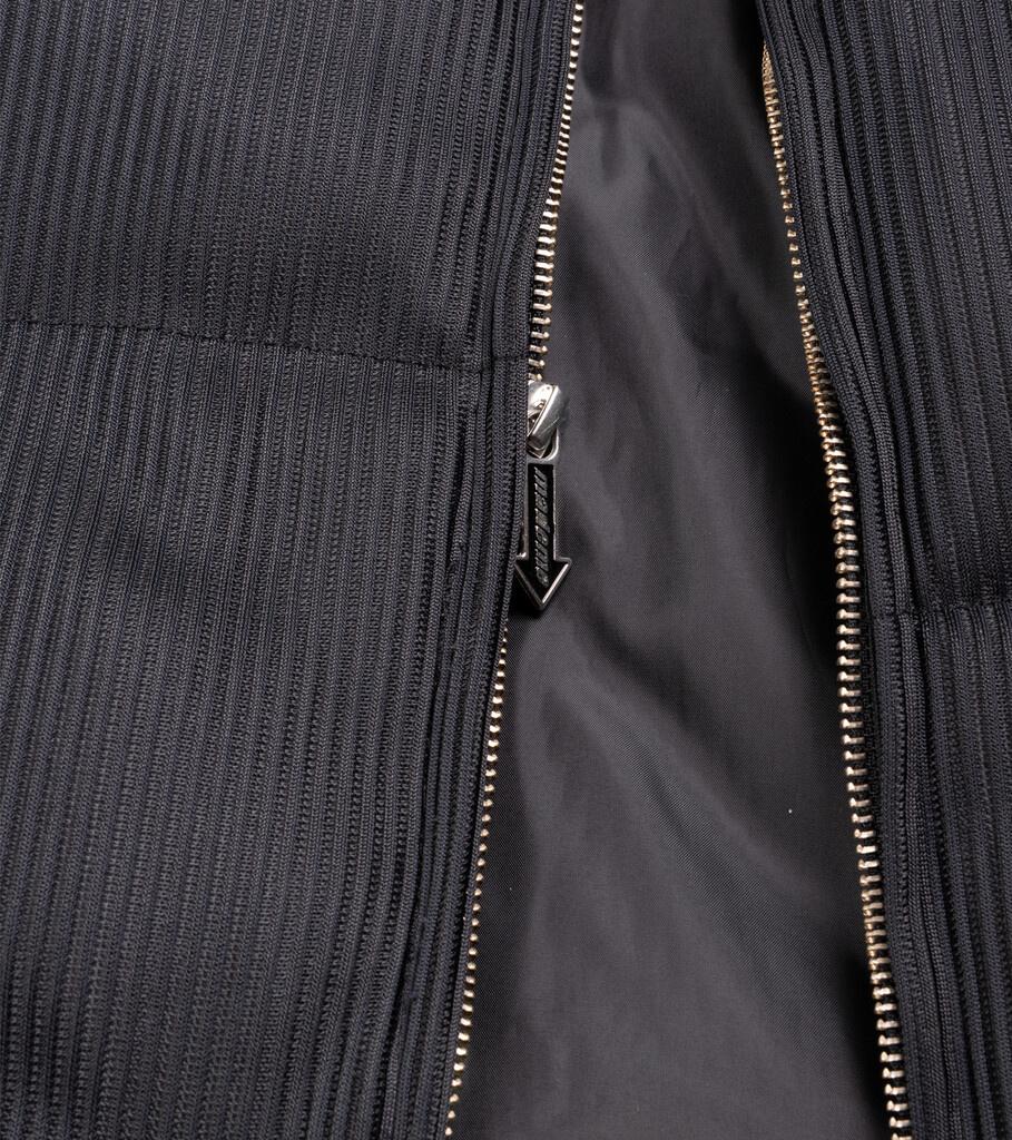 "Lenticular Puffer Jacket ""Black""-4"