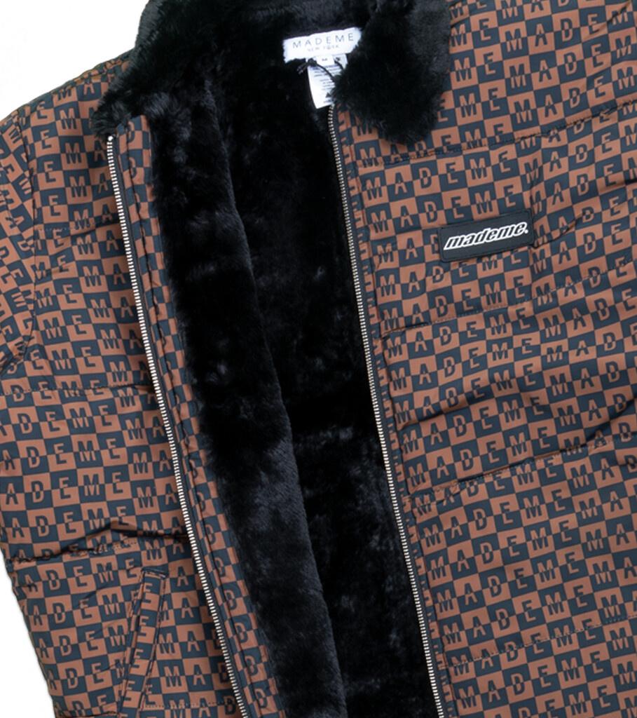 "Fur Collar Puffer Jacket ""Black""-3"