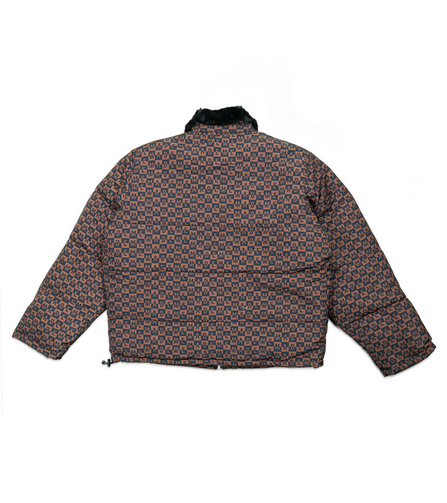 "Fur Collar Puffer Jacket ""Black""-4"