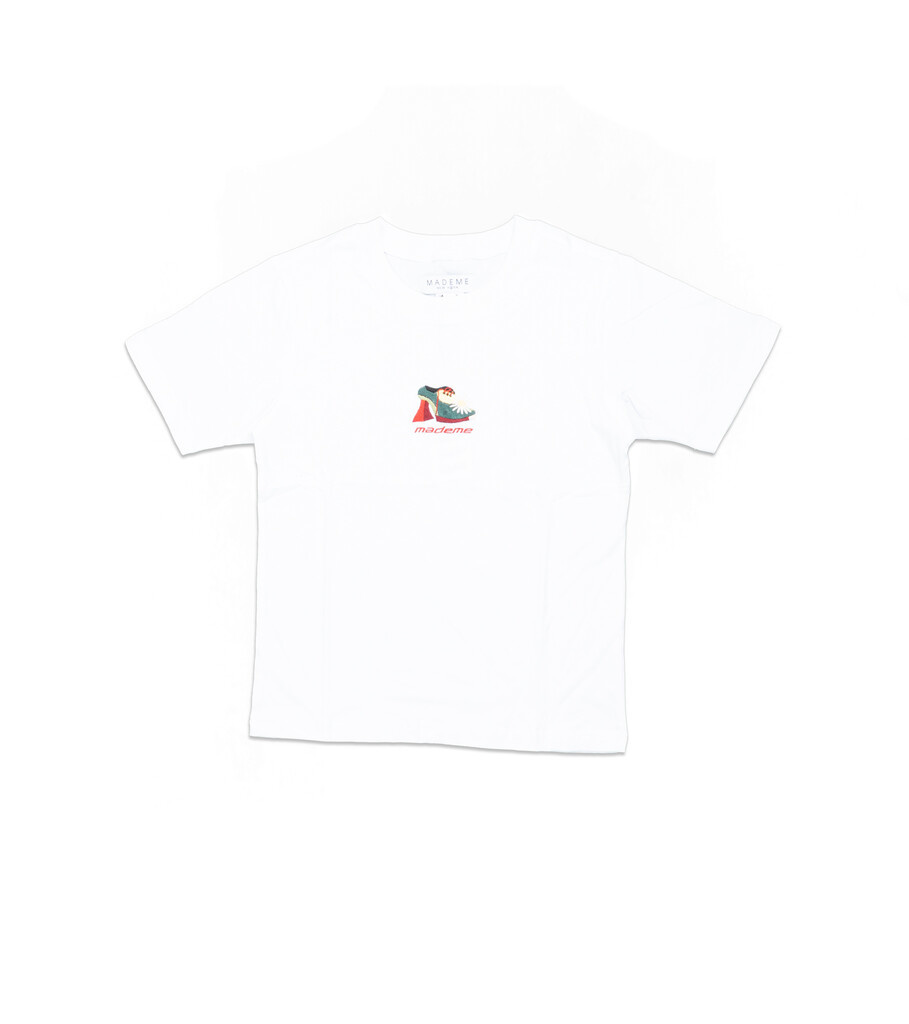 "Munster Embroidered Tee ""White""-1"