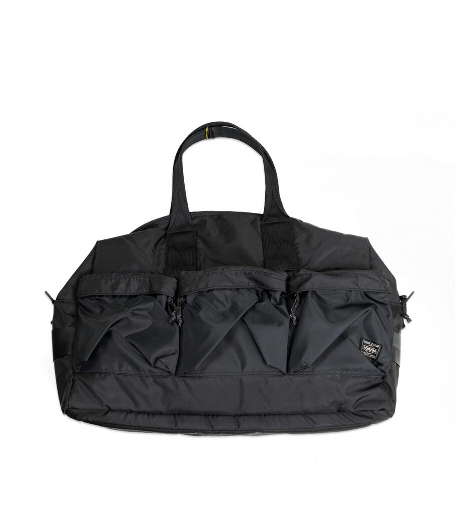 "Force 2 Way Duffle Bag ""Black""-1"