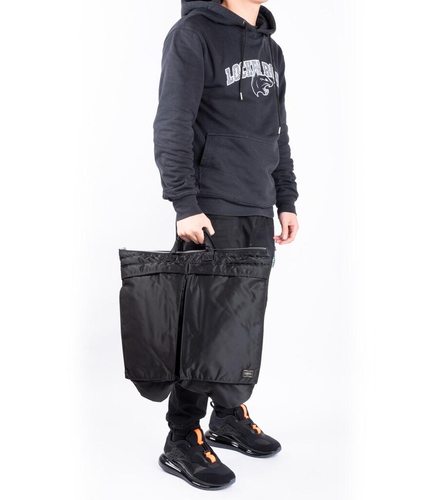 """2Way Helmet Bag """"Black""""-7"""