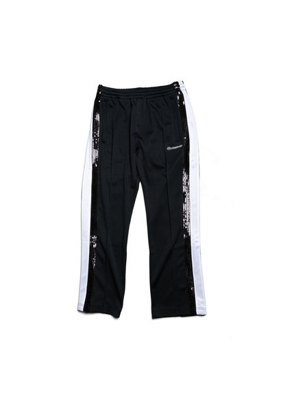 "Spangle Jersey Track Pants ""Black"""