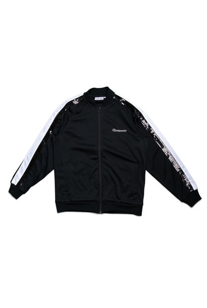 "Spangle Jersey Track Jacket ""Black"""