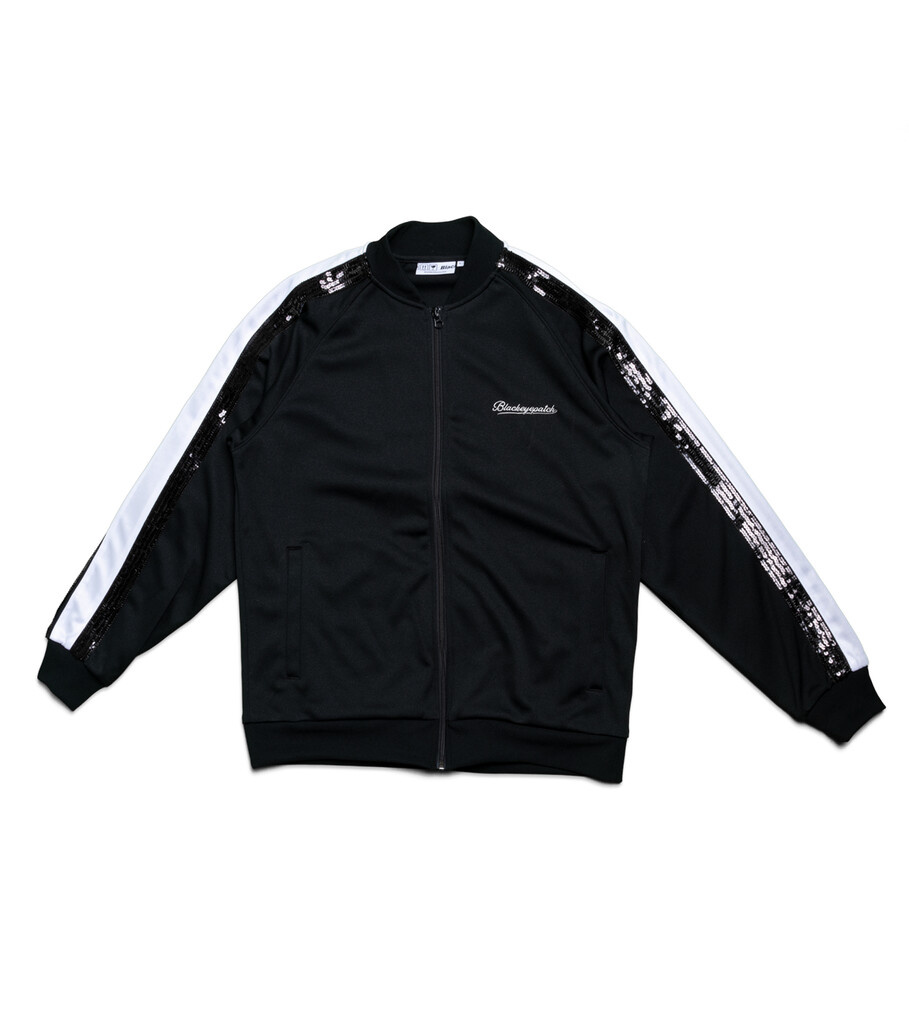 "Spangle Jersey Track Jacket ""Black""-1"