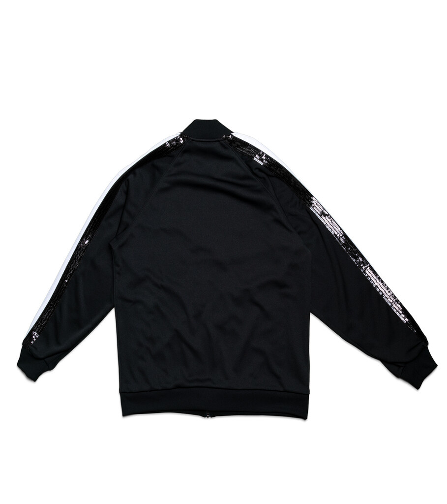 "Spangle Jersey Track Jacket ""Black""-3"