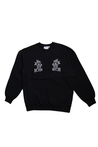 "Mirror Logo Sweatshirt ""Black"""
