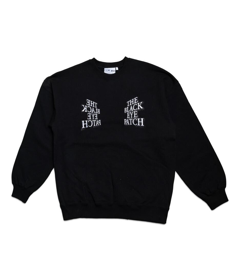 "Mirror Logo Sweatshirt ""Black""-1"