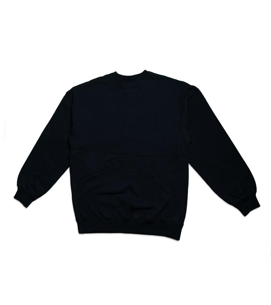 "Mirror Logo Sweatshirt ""Black""-3"