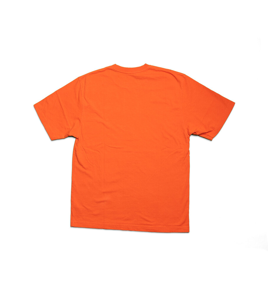 """As Advertised"" Logo Tee ""Orange""-3"