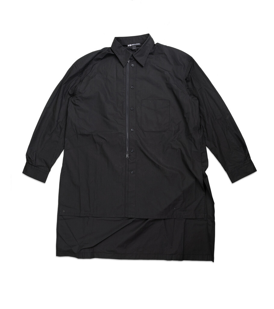 "Y-3 Craft Long Shirt ""Black""-1"