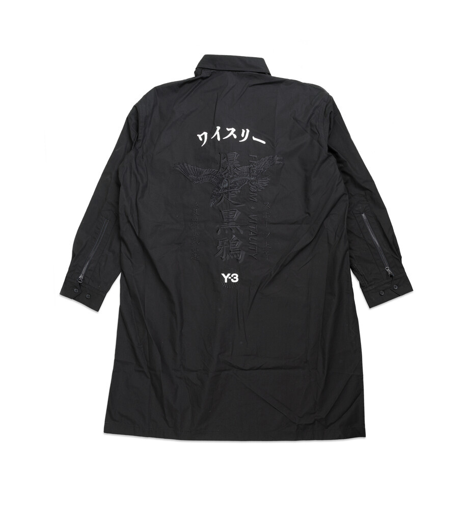 "Y-3 Craft Long Shirt ""Black""-3"