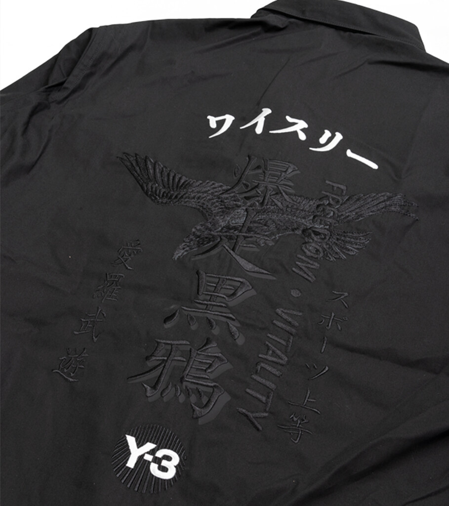 "Y-3 Craft Long Shirt ""Black""-4"