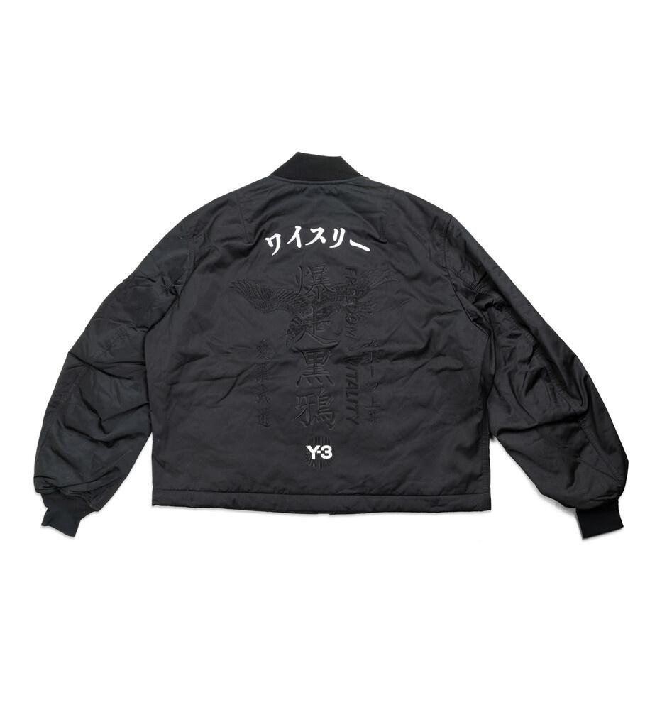 "Y-3 Craft Bomber Jacket ""Black""-3"