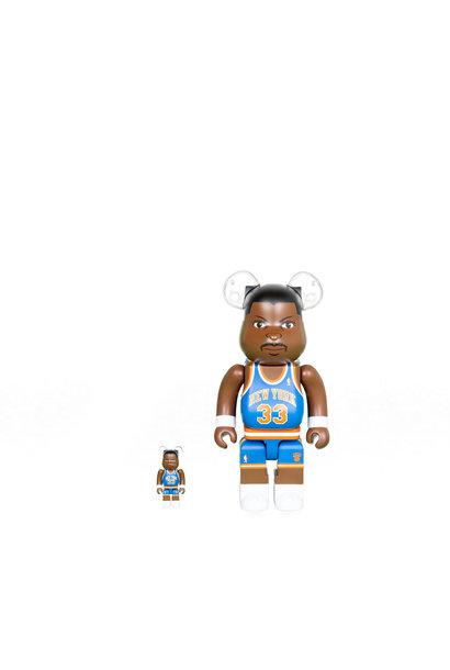 """Patrick Ewing 100% & 400% Be@rbrick """"Knicks"""""""