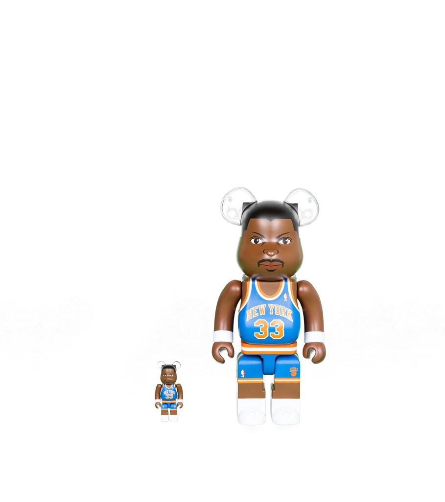 """Patrick Ewing 100% & 400% Be@rbrick """"Knicks""""-1"""