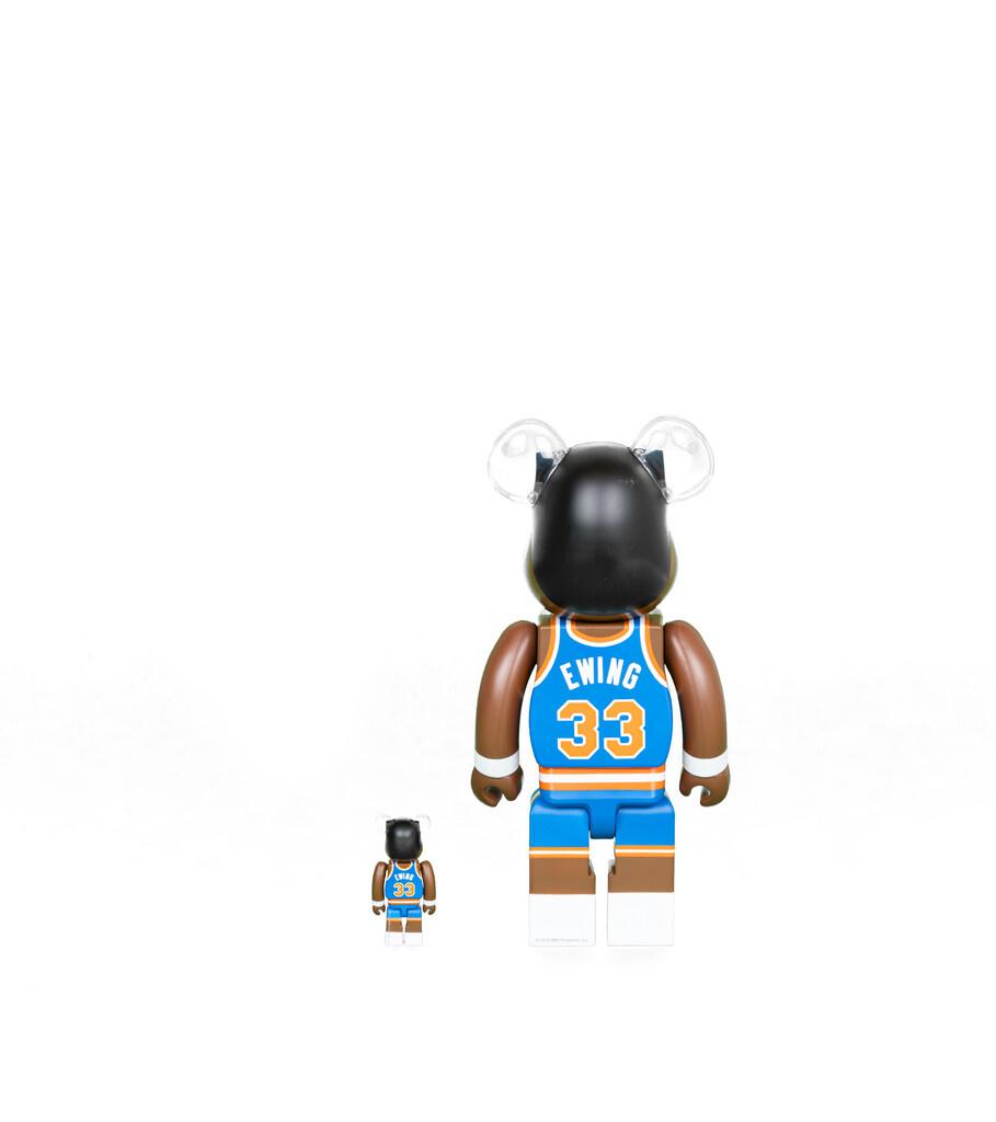 """Patrick Ewing 100% & 400% Be@rbrick """"Knicks""""-2"""