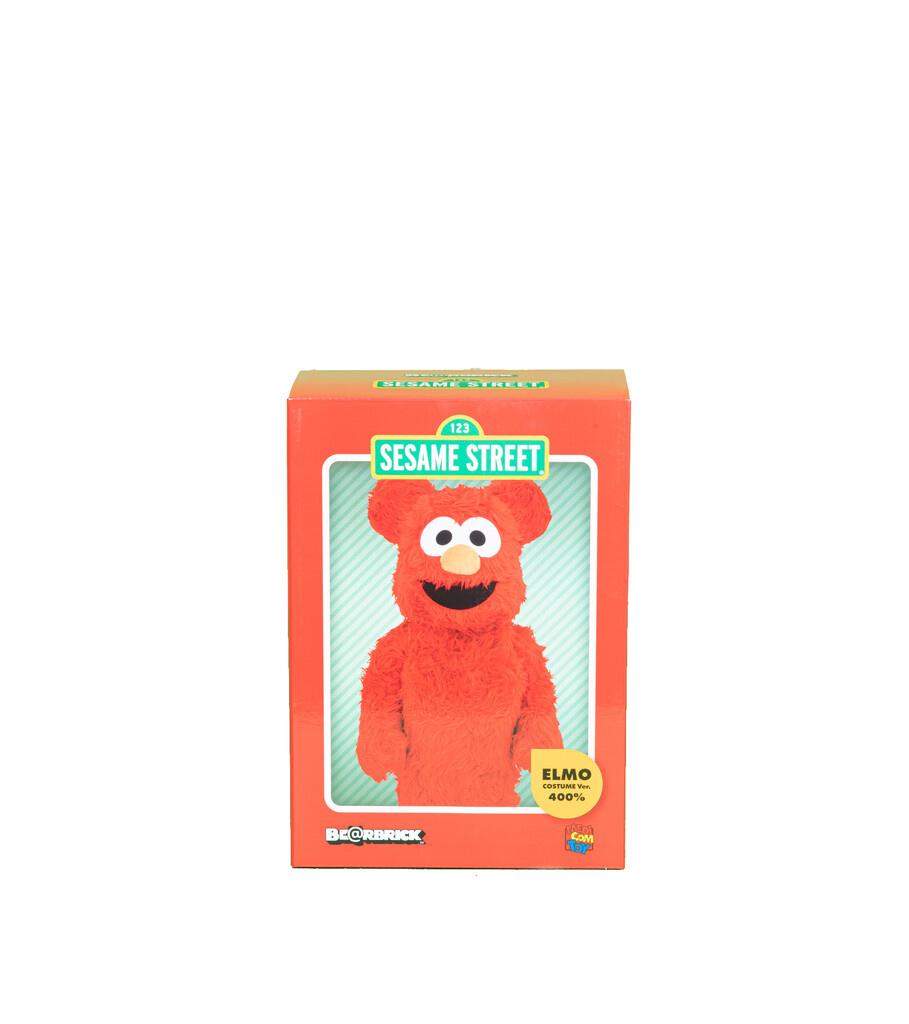 "Elmo Costume 400% Be@Rbrick ""Red""-4"