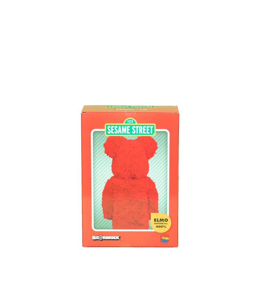 "Elmo Costume 400% Be@Rbrick ""Red""-6"
