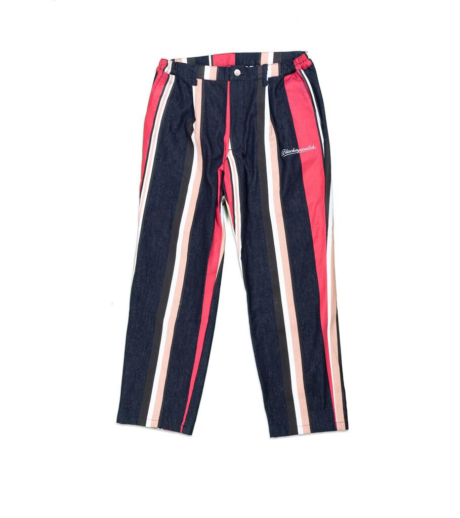 """Striped Denim Pants """"Multicolor""""-1"""