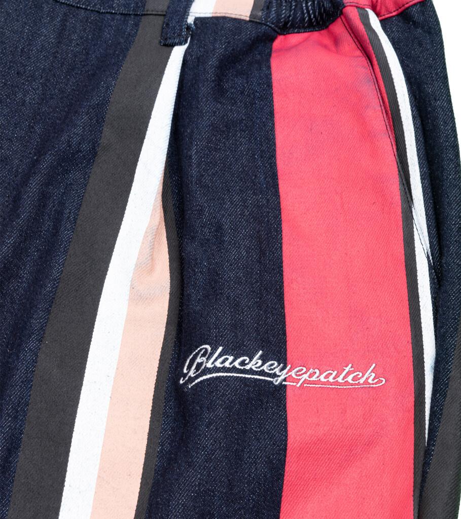 """Striped Denim Pants """"Multicolor""""-2"""