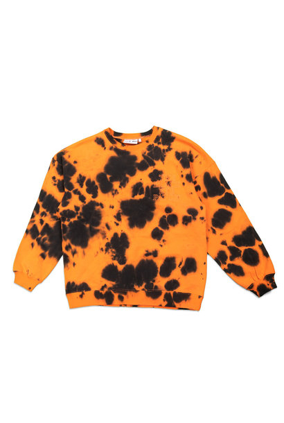 "Tie Dye Sweatshirt ""Orange"""