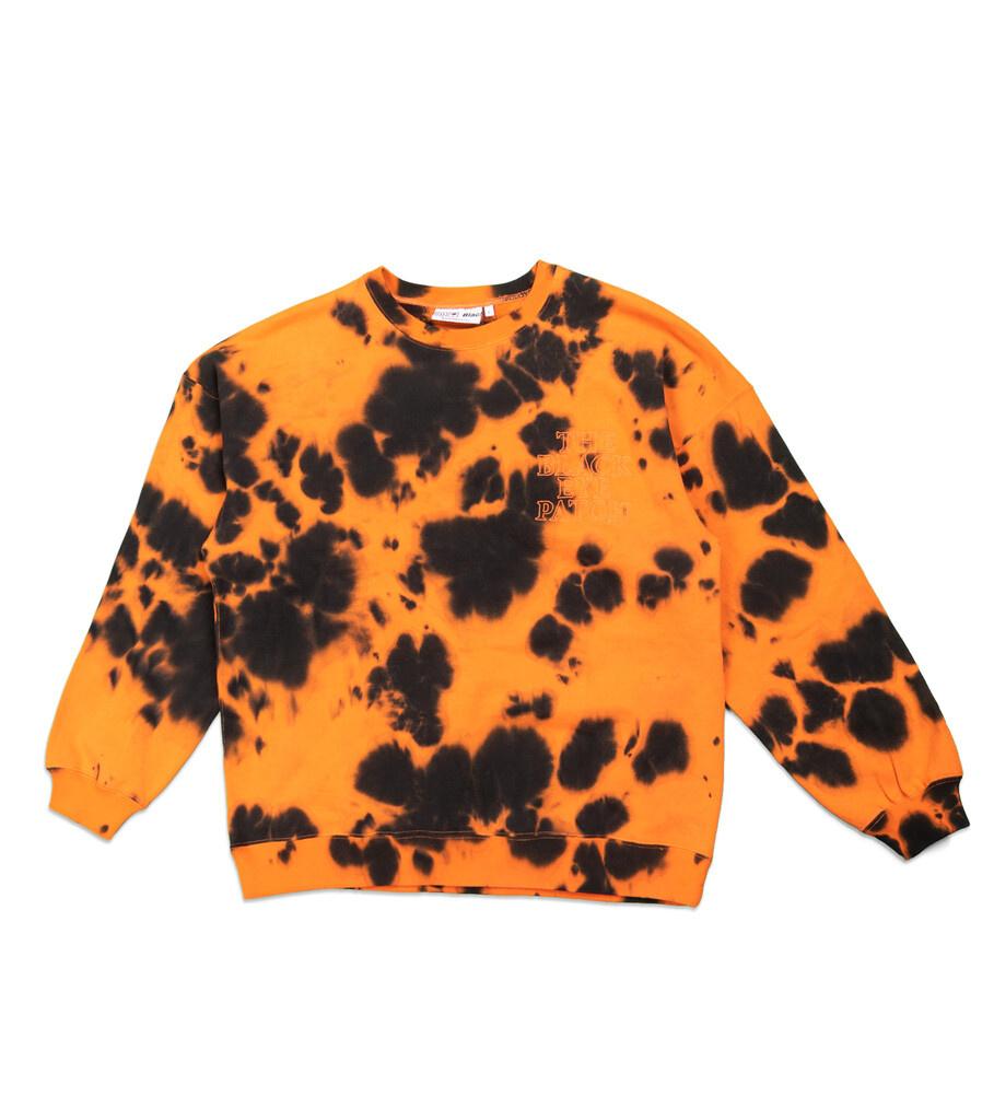 "Tie Dye Sweatshirt ""Orange""-1"