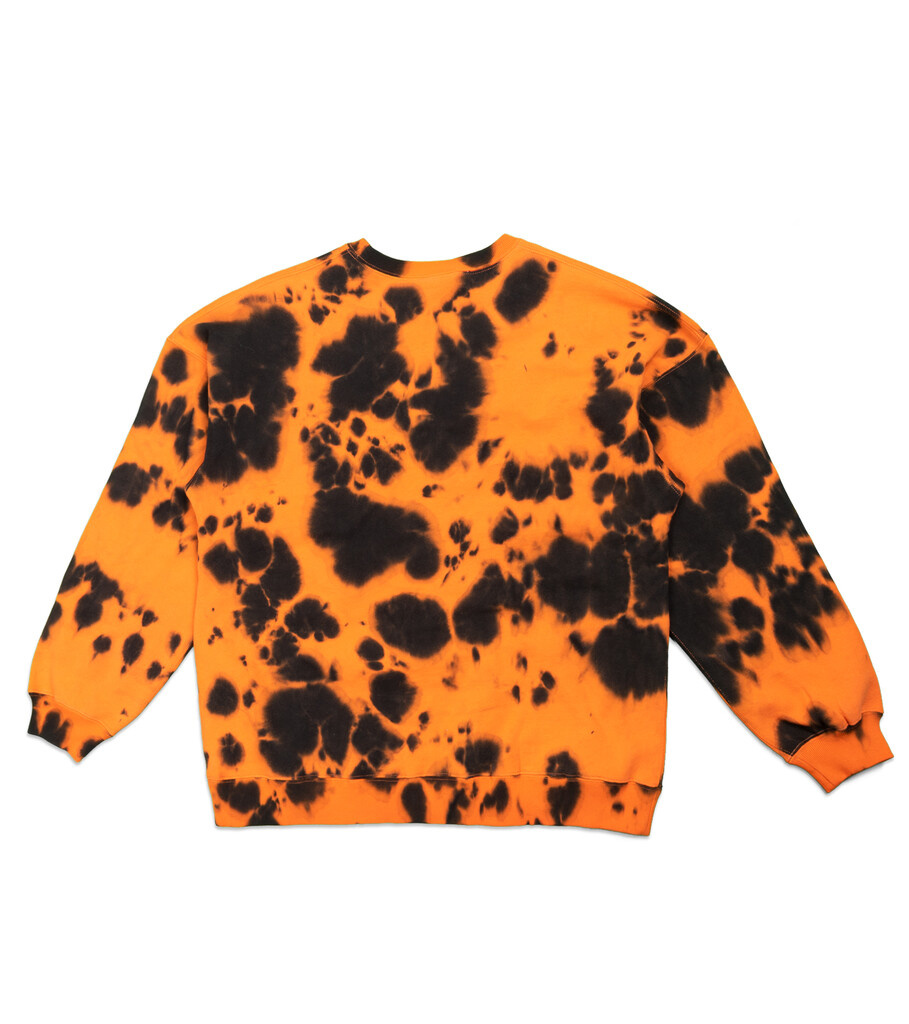 "Tie Dye Sweatshirt ""Orange""-3"