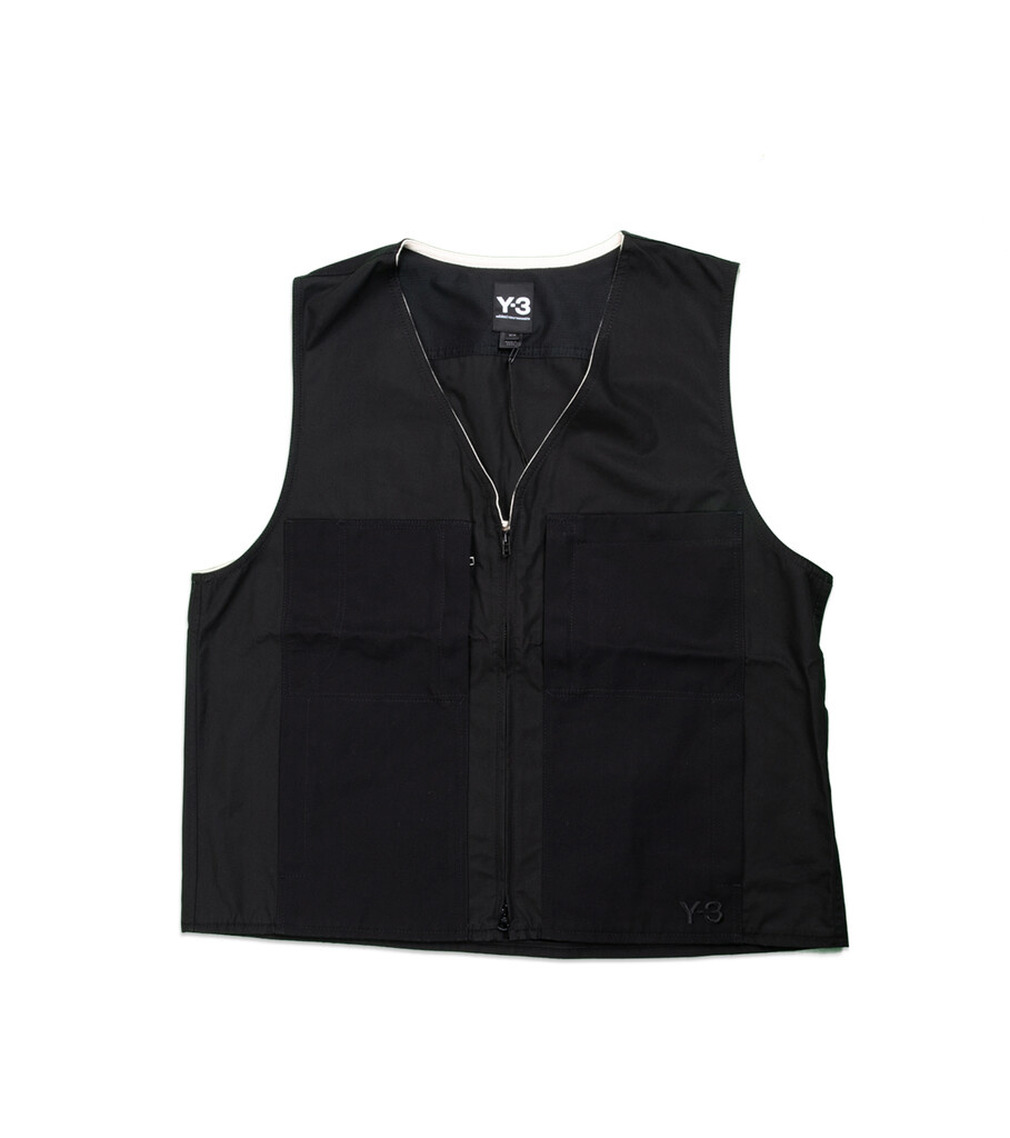 "Y-3 Workwear Vest ""Black""-1"