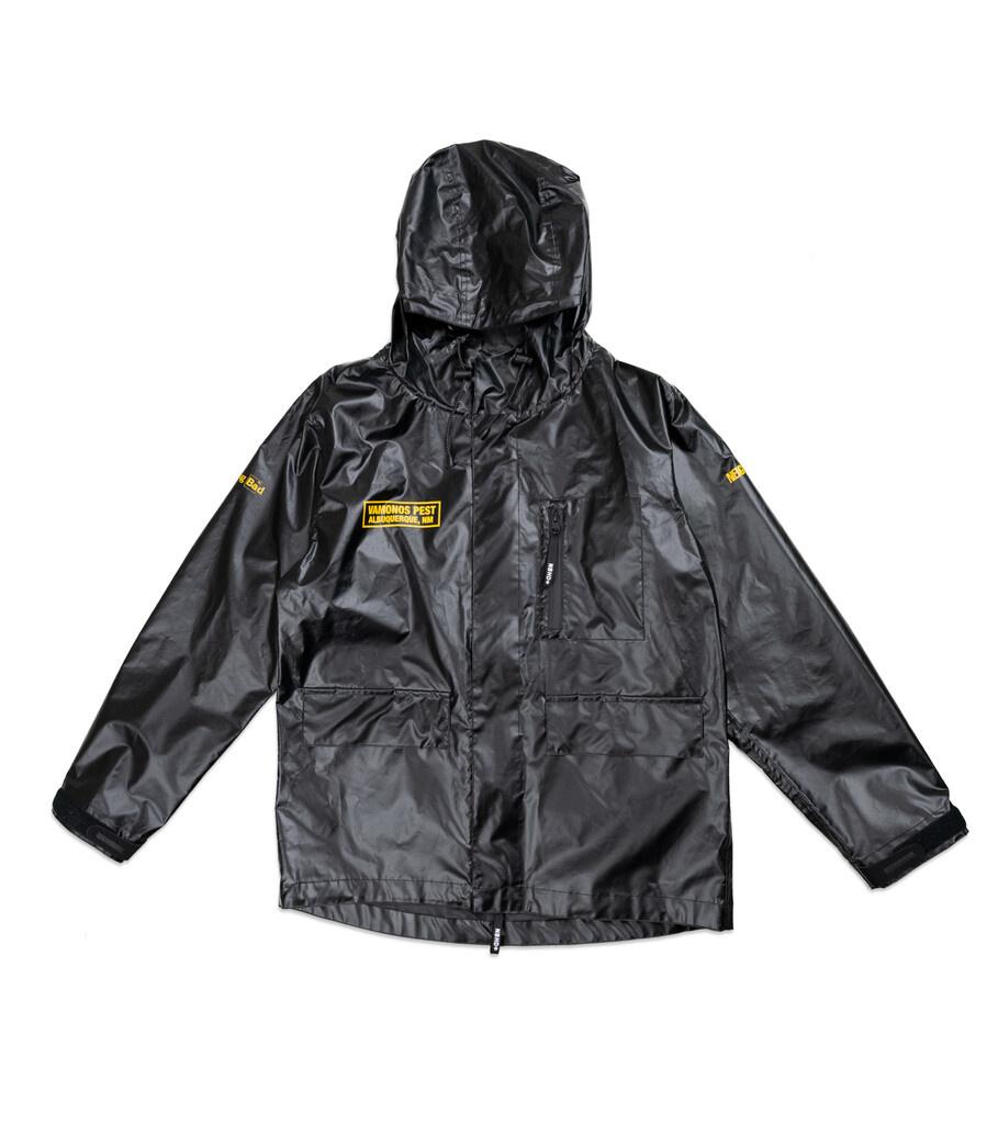 """Breaking Bad Vamonos Pest Rain Jacket """"Black""""-1"""