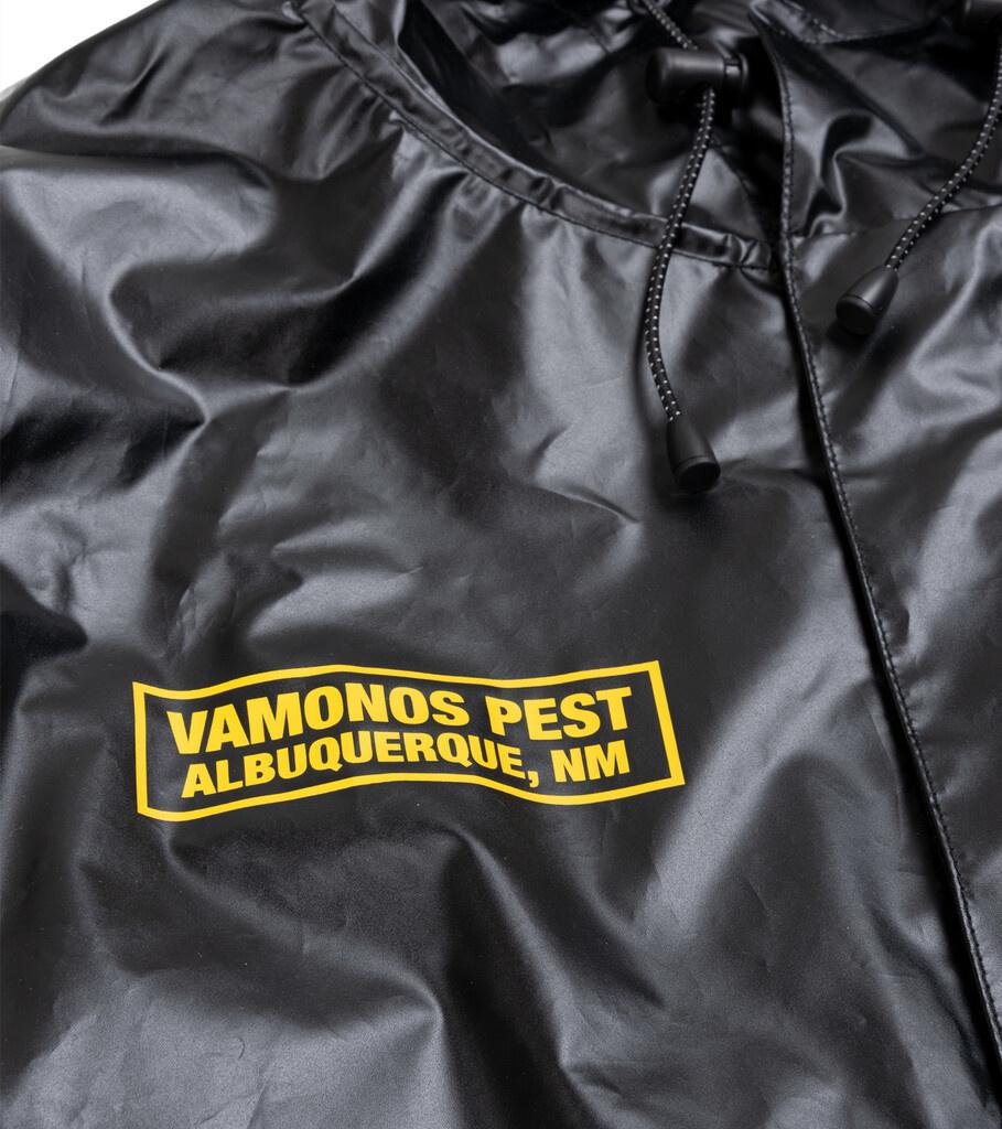 """Breaking Bad Vamonos Pest Rain Jacket """"Black""""-2"""
