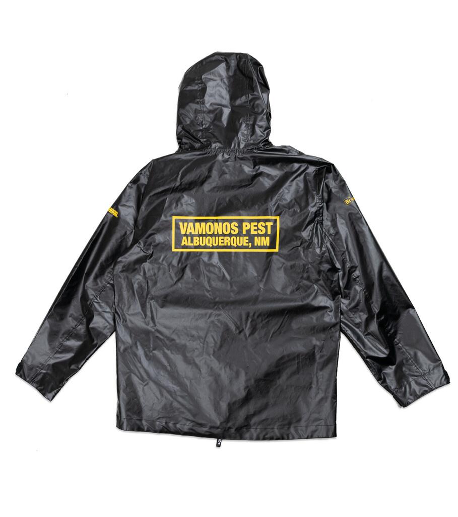"""Breaking Bad Vamonos Pest Rain Jacket """"Black""""-5"""