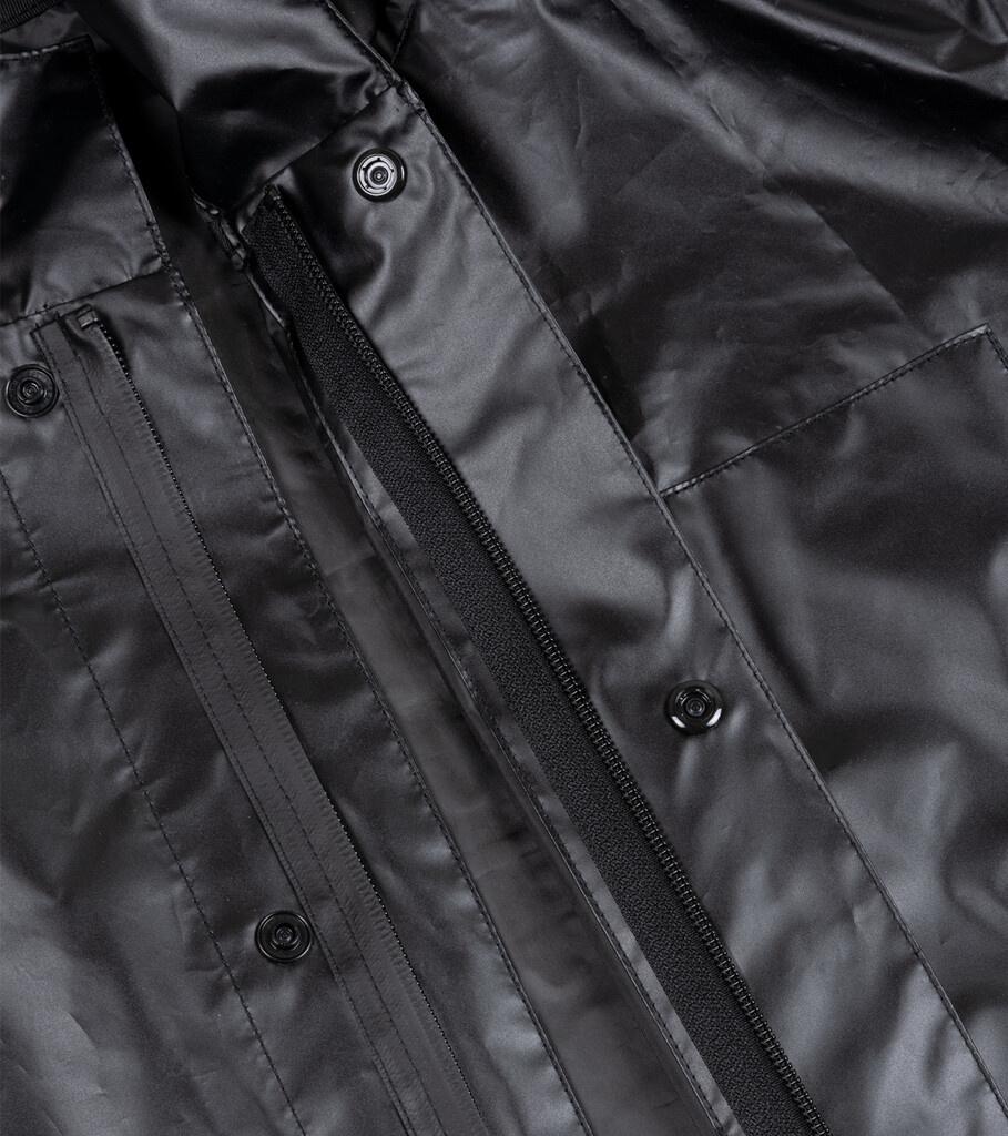 """Breaking Bad Vamonos Pest Rain Jacket """"Black""""-6"""